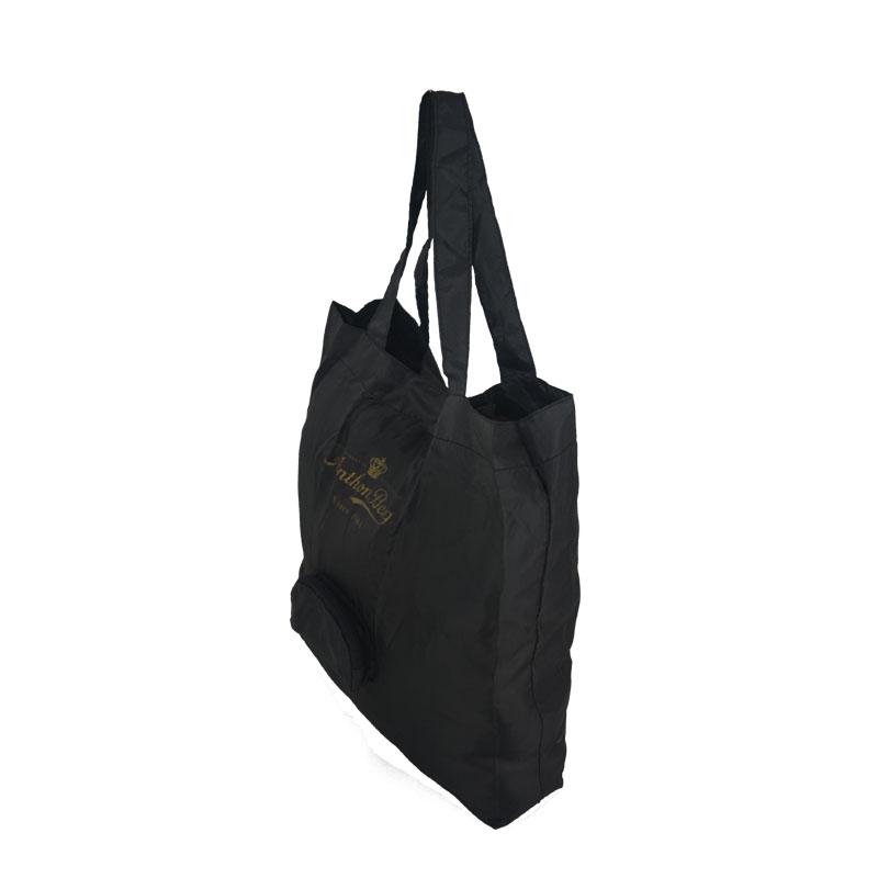 foldable nylon tote bags side