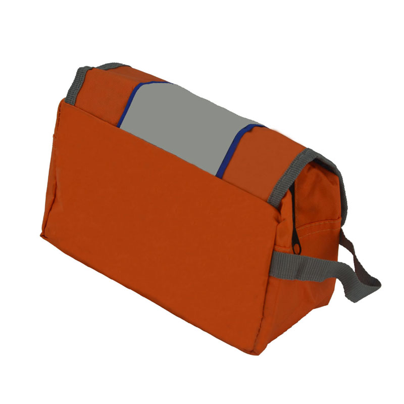 foldable toiletry bag back