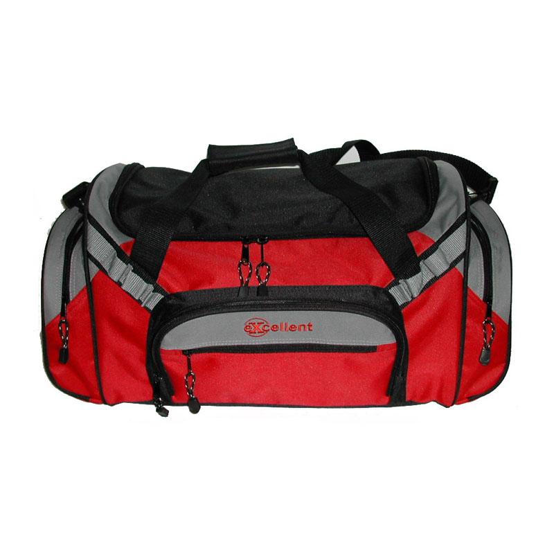 mens travel bag red