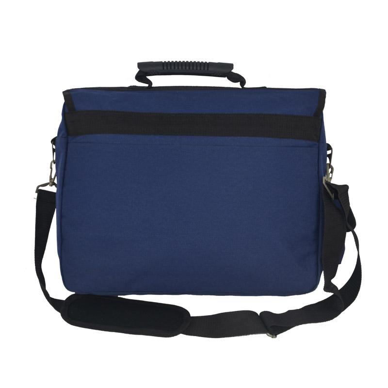 Laptop messenger bag for men back