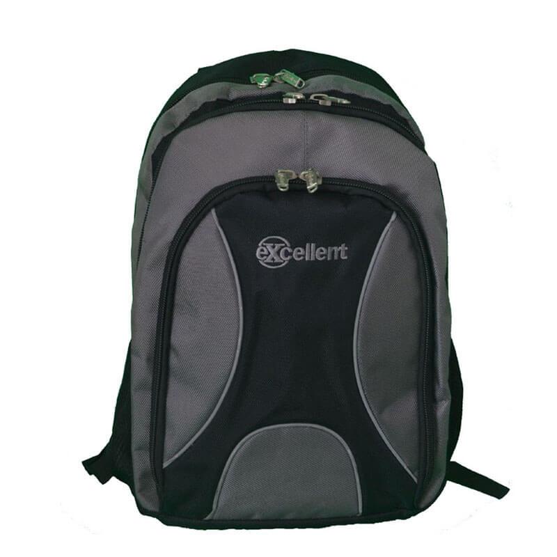 custom laptop backpack grey