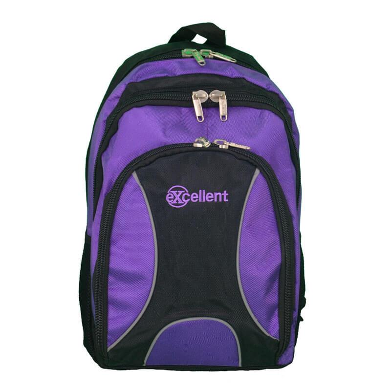 custom laptop backpack purple