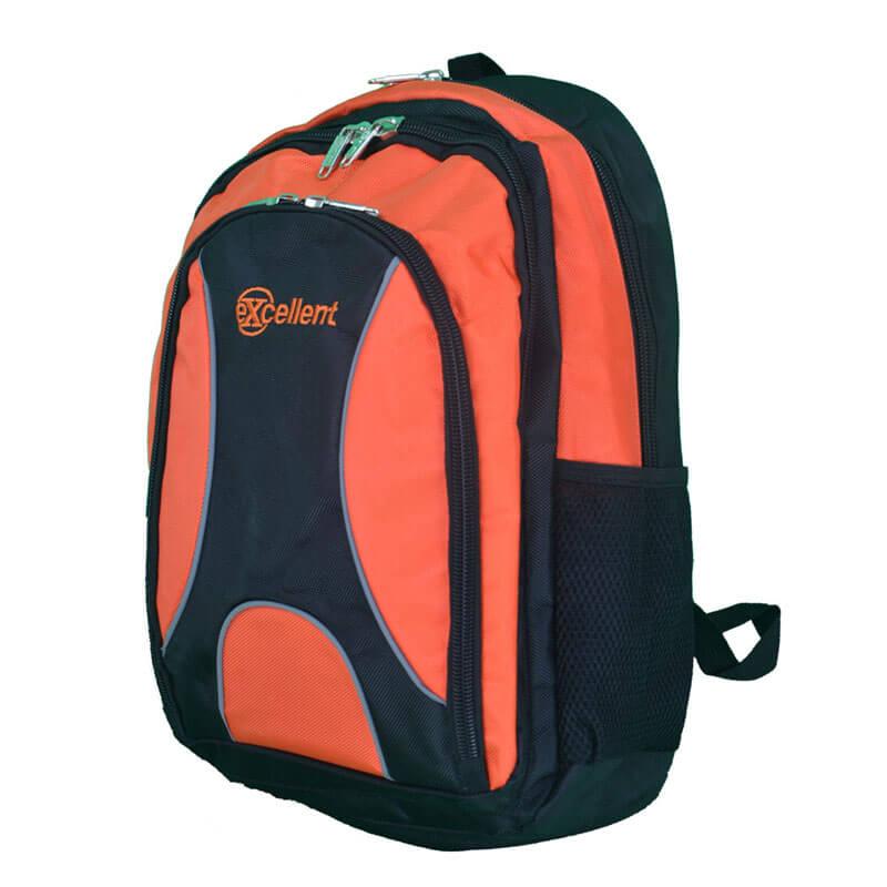 custom laptop backpack orange