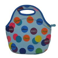 women lunch bag light blue