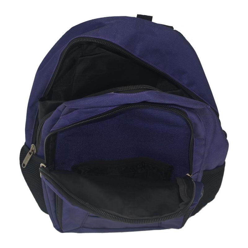 fashion laptop backpack inside