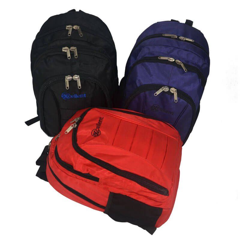 fashion laptop backpack black