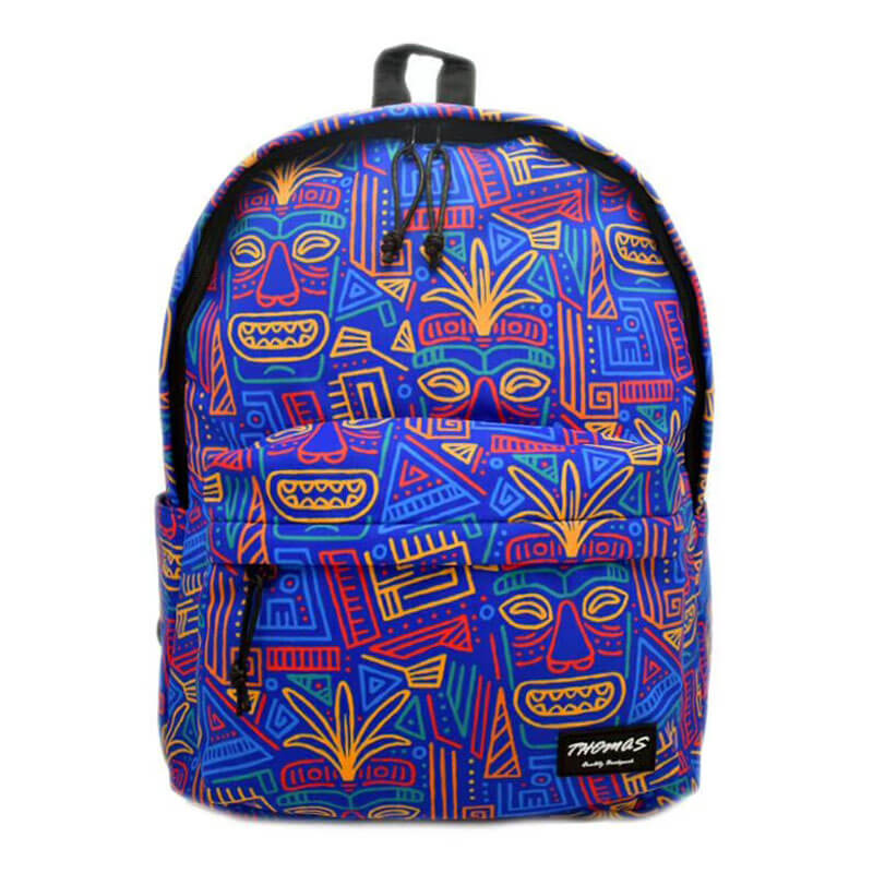 colorful nylon backpack