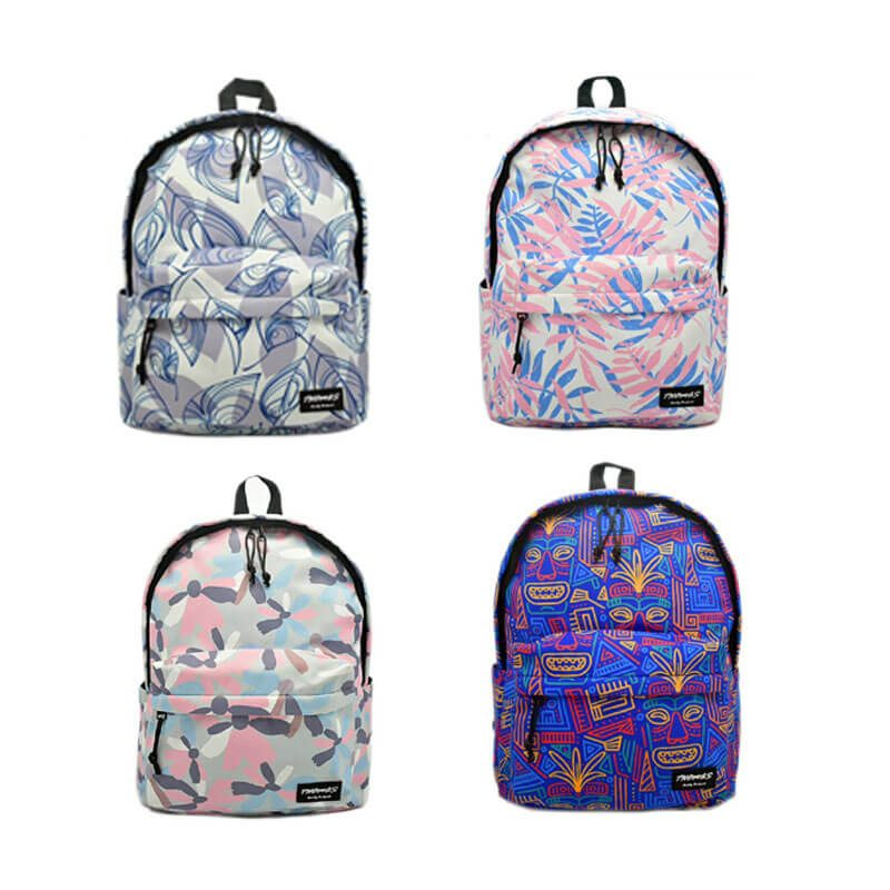 colorful nylon backpack color